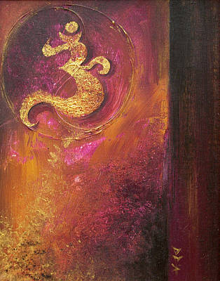 Art Print featuring the painting Meditations by Dina Dargo