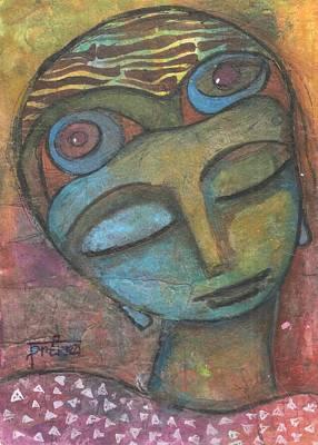 Mixed Media - Meditative Awareness by Prerna Poojara