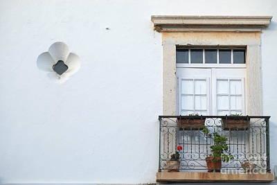 Mediterranean Balcony Art Print by Angelo DeVal