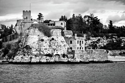 Photograph - Mediterranean Castle by Maria Coulson