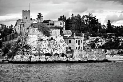 Photograph - Mediterranean Castle by Maria Coulson