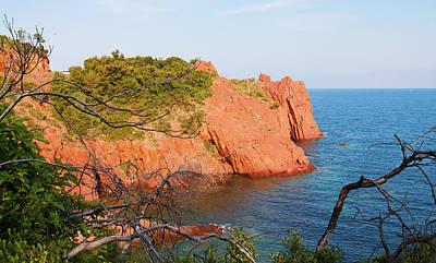 Photograph - Mediterranean Coast In Provence by Tatiana Travelways