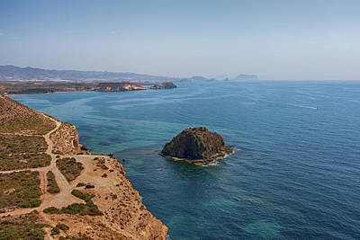 Photograph - Spain Coastline by Tatiana Travelways