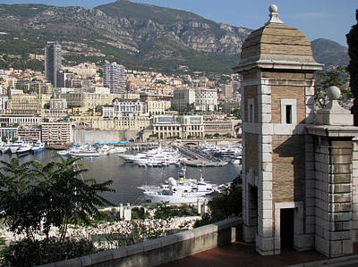 Photograph - Overlooking Monaco by Dianne Levy