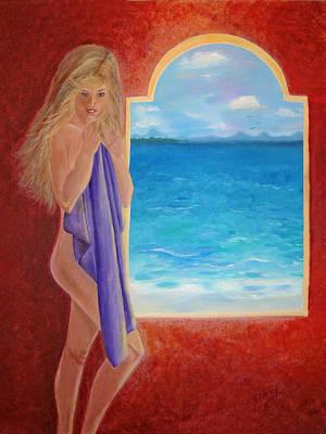 Painting - Mediterranean Dreams by Donna Blackhall