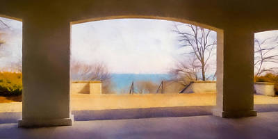Manipulated Photograph - Mediterranean Dreams by Scott Norris