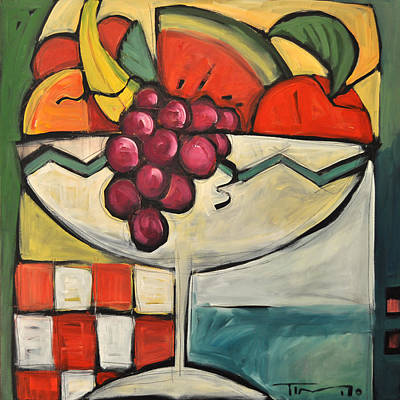 Painting - Mediterranean Fruit Cocktail by Tim Nyberg