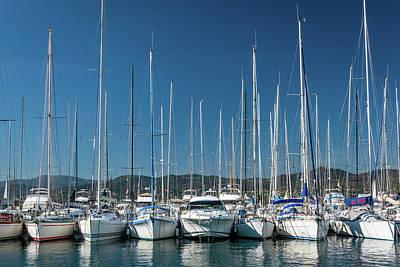 Photograph - Mediterranean Marina by Michael Niessen