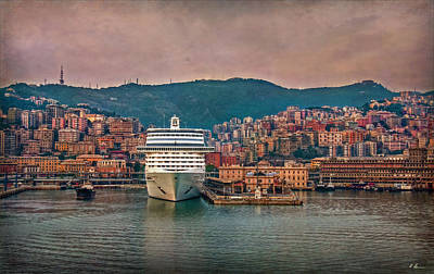 Photograph - Mediterranean Port by Hanny Heim