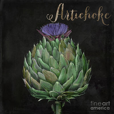 Artichoke Painting - Medley Artichoke by Mindy Sommers