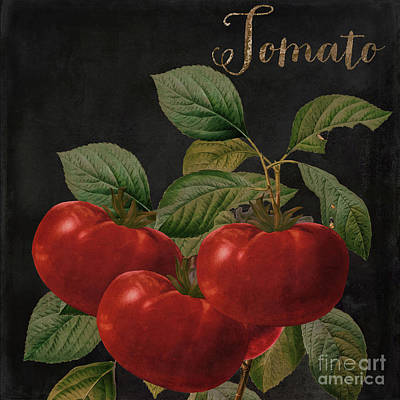 Tomato Painting - Medley Tomato by Mindy Sommers