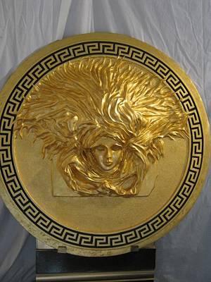 Medusa Gold Plated Original by Dino Hasanagic