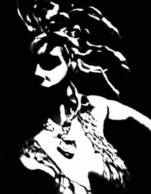 Gorgon Digital Art - Medusa by Katrina Britt