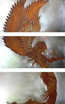 Gorgon Mixed Media - Medusa by Margaret Hastings