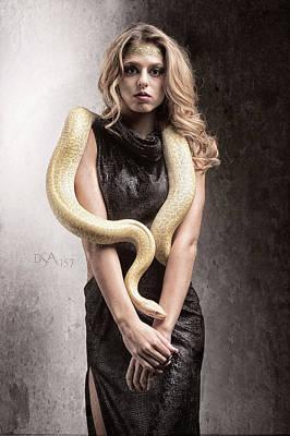 Photograph - Medusa's Brood Vii by David April