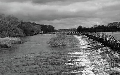 Photograph - Meelick Weir by Peter Skelton