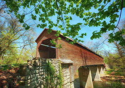 Photograph - Meem's Bottom Bridge In Spring by Lara Ellis