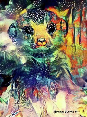 Meerkat Digital Art - Meerkat Magic by Bunny Clarke