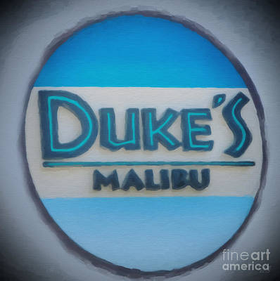 California Painting - Meet Me At Duke's by David Millenheft