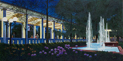 Painting - Meet Me At The Muny by Michael Frank