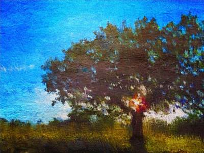 Painting - Meet Me By The Tree by Mark Taylor