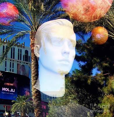 Photograph - Meet Me In Las Vegas by L Cecka