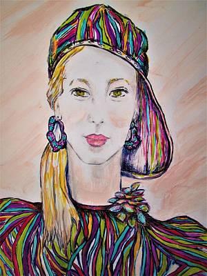 Meet   Short Stop  Art Print by Liz Lafalce