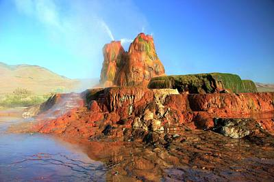 Photograph - Meet The Fly Geyser by Sean Sarsfield