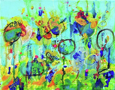 Painting - Meet You At The Carnival by Haleh Mahbod