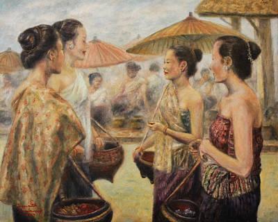 Meeting At The Market Original