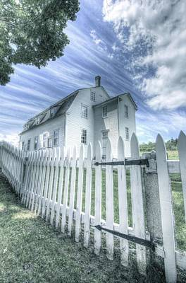 Photograph - Meeting House At Sabbath Day Lake by John Meader