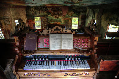 Photograph - Meeting House Organ by John Meader