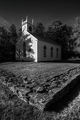 Photograph - Meeting House by Patrick Groleau