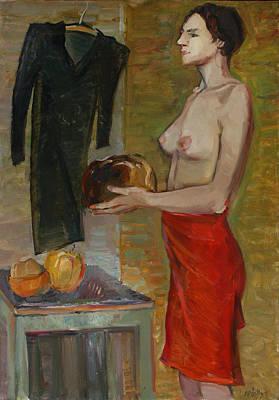 Painting - Meeting by Juliya Zhukova