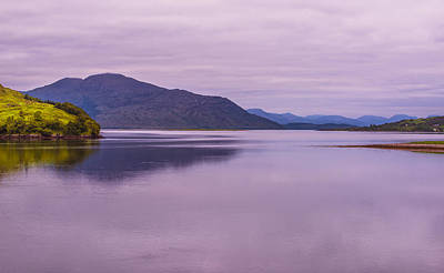 Photograph - Meeting Of The Lochs  by Steven Ainsworth