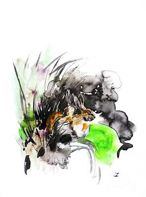 Painting - Meeting The Morning by Zaira Dzhaubaeva
