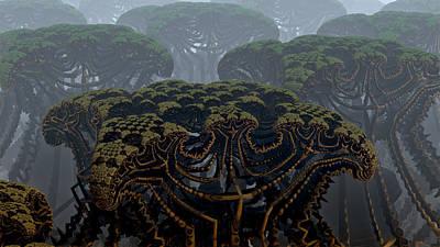 Mega Trees Art Print
