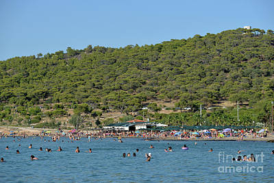 Photograph - Megalo Kavouri Beach by George Atsametakis