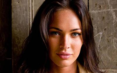 Digital Art - Megan Fox by Maye Loeser