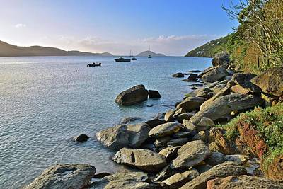 Photograph - Megans Bay St Thomas by Frozen in Time Fine Art Photography