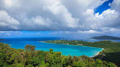 Photograph - Megens Bay St Thomas by Keith Allen