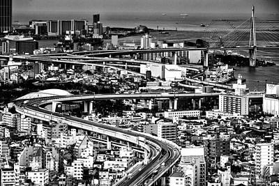 Photograph - Megapolis by Hayato Matsumoto