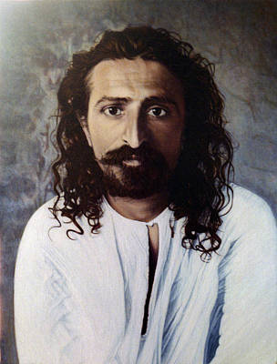 Baba Painting - Meher Baba 4 by Nad Wolinska