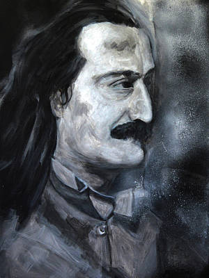 Baba Painting - Meher Baba Profile by Joe DiSabatino