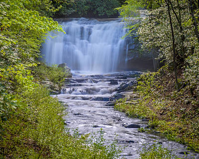 Photograph - Meigs Falls by Jack R Perry