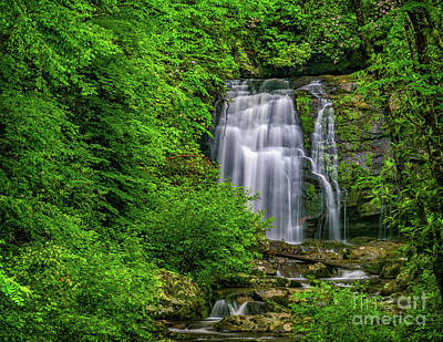 Photograph - Meigs Falls by Nick Zelinsky