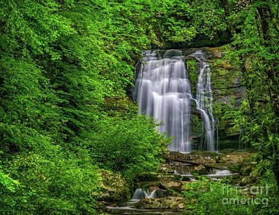 Photograph - Meigs Falls by Nick Zelinsky