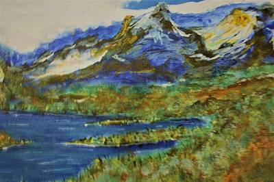 Painting - Majestic Blue by Douglas Beatenhead