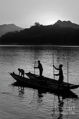 Photograph - Mekong River - Luang Probang Laos by Craig Lovell