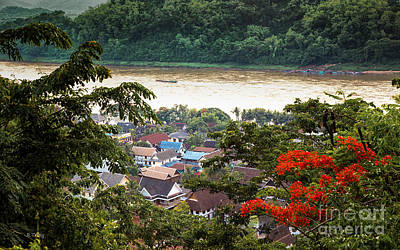 Photograph - Mekong River View From Mount Phousi by Rene Triay Photography
